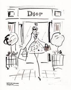 Miyuki Ohashi ~ Dior boutique