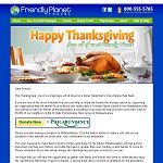 Email Gallery - Thanksgiving email collection