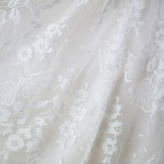 An exquisitely ethical lace wedding dress.  The Diana