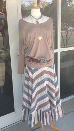 Gorgeous seersucker Fall outfit! Skirt sm thru Xl. $54.  Jade Boutique is a trendy boutique in Trussville, AL that carries ladies and tween clothing, purses, shoes, jewelry, accessories, and more! Call (205) 655-5333 or stop by TODAY!
