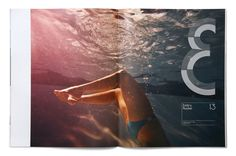JK& / spread from magazine John Kenney &. by Triboro Design. via September Industry #editorial.