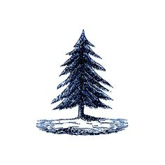 Pine Tree temp tattoos