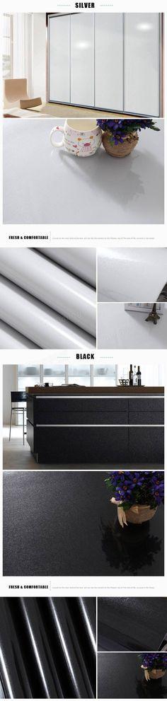 1 Roll 16.4ft Furniture Renovation Decal Pearlized Stoving Varnish Refurbishment Stickers Wallpaper at Banggood