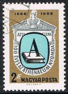 [CF7454] Hungría 1969, I Cent. imprenta 'Atheneum' de Budapest (CTO) Juventus Logo, Budapest, Team Logo, Stamps, Logos, Ebay, Ideas, Printing Press, Seals
