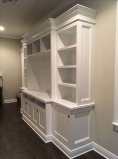 39 Ideas For Diy Shelves Wall Family Rooms Built Ins - diy family room ideas,diy family room makeover,diy family room Built In Wall Units, Tv Built In, Bookshelves Built In, Built In Cabinets, Built In Tv Cabinet, Bookcases, Tv Wall Units, Built In Wall Shelves, Tv Bookcase