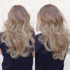 Dirty blonde Beliage Hair, Cut And Color, Hair Inspo, Curls, Hair Cuts, Long Hair Styles, Modern, Beauty, Lush