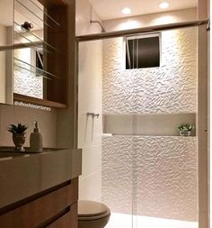 Likes, 40 Kommentare - Start Bathroom Renos, Small Bathroom, Master Bathroom, Modern Bathroom Design, Bathroom Interior Design, Bath Design, Plafond Design, Bathroom Inspiration, House Design
