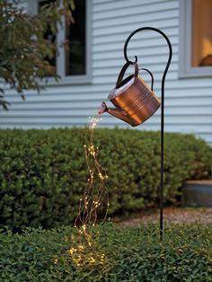 diy garden decor Create your own yard art with our new Bottle Bush -- a smaller version of our Bottle Tree. Hand-painted with a rustic finish. Garden Crafts, Diy Garden Decor, Outdoor Garden Decor, Outdoor Tree Decorations, Garden Decorations, Diy Backyard Projects, Rustic Outdoor Decor, Outdoor Projects, Rustic Backyard