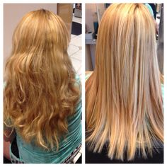 Corrective color and Brazilian blowout