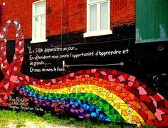 An AIDS graffiti in the Gay Village #Montreal #Graph #StreetArt