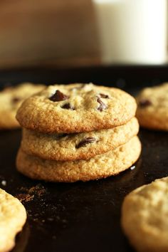 Gluten-Free Chocolate Chip Cookies | Minimalist Baker Recipes