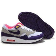 http://www.asneakers4u.com/ 319986 016 Nike Air Max 1 Purple White D03040