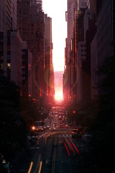 Sunset Manhattan by Jay Hwang on 500px.More Cityscapes here.