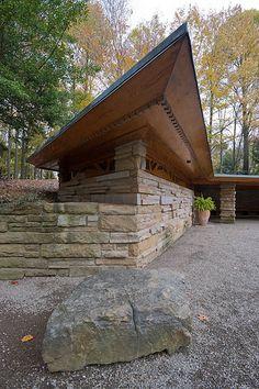 Kentuck Knob, Chalk Hill, PA - Frank Lloyd Wright
