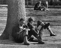 On Reading: André Kertész Washington Square