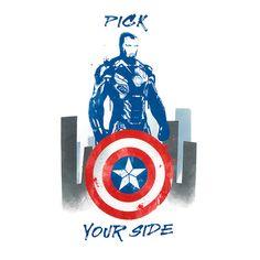 Marvel Pick Your Side Raglan Tee