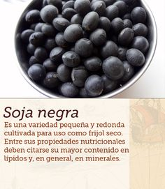 #soja #negra #soy #cocinasdelmundo #comida