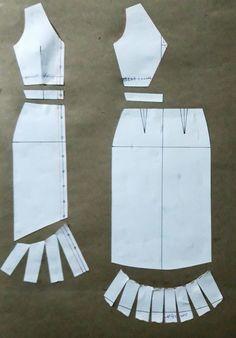 Fashion Sewing, Diy Fashion, Ideias Fashion, Sewing Clothes, Diy Clothes, Fashion Pattern, Costura Fashion, Dress Making Patterns, Sewing Techniques