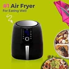 Choose from 8 Cooking Presets and Keep Warm Function. Air Fryer Sale, Air Fry Steak, Large Air Fryer, Must Have Kitchen Gadgets, Kitchen Electronics, Grilled Turkey, Best Air Fryers, Cooking Appliances, Turkey Breast