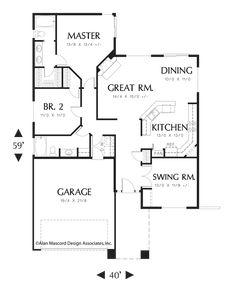 Image for Rheingold-Versatile and Functional Plan-Main Floor Plan