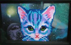 Cat perler bead project by veechan on deviantart