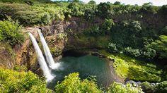 Kauai's Wailua Falls.