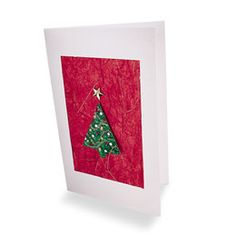 Tree pin and card
