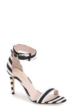 kate spade new york 'isa' ankle strap sandal (Women) available at #Nordstrom