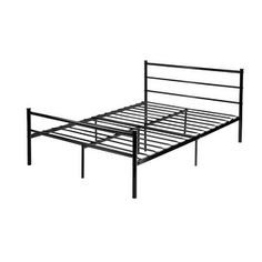 Shop for VECELO Platform Metal Full Bed Frame/Mattress Foundation with Headboard, Box Spring Replacement Full . Get free shipping at Overstock.com - Your Online Furniture Outlet Store! Get 5% in rewards with Club O!