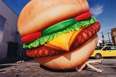 View Death by Hamburger by David LaChapelle on artnet. Browse more artworks David LaChapelle from Staley-Wise Gallery. David Lachapelle, Food Design, Big Mac, The Blonde Salad, Poster S, Funny Wallpapers, Hot Dog Buns, Terry Richardson, Art Photography