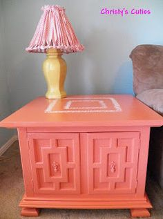 Color for Goodwill Table - Coral Tables