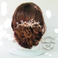Wedding Hair Accessories Rose Gold Hair Jewellery Rose Gold Pearl Hair Pin Rose Gold Bridal Hair Pin Decorative Hair Jewelry Gifts