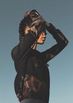 Women's silk workwear shirt, by Travail en Famille.