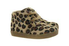 Falcotto leopardo first walk shoes