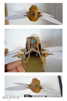 Laputa Flapter Papercraft by studioofmm