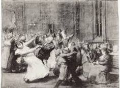 George Wesley Bellows (Dance in a madhouse)