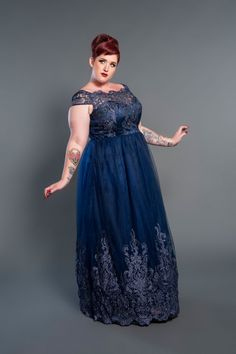 Come see what's on Sale at Pinup Girl Clothing- get the best style at the best prices Evening Dresses Plus Size, Formal Evening Dresses, Plus Size Dresses, Plus Size Outfits, Big Size Dress, Party Mode, Pinup Girl Clothing, Bridesmaid Dresses, Prom Dresses