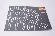 Calligraphy Envelope Addressing -  Megan Suite.