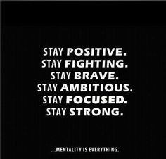 Stay strong! ❤