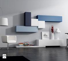 Aranżacje wnętrz - Salon: Meble modułowe - Salon, styl nowoczesny - Rosanero. Przeglądaj, dodawaj i zapisuj najlepsze zdjęcia, pomysły i inspiracje designerskie. W bazie mamy już prawie milion fotografii!