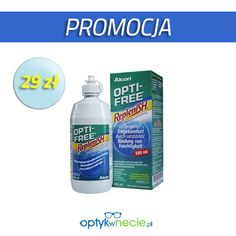 Promocja wielofunkcyjnego płynu do soczewek:) http://www.optykwnecie.pl/948,opti-free-replenish-300-ml.html
