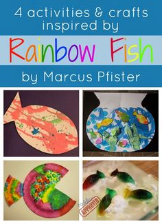 Toddler Approved!: Rainbow Fish Crafts and Activities {Virtual Book Club for Kids Blog Hop}