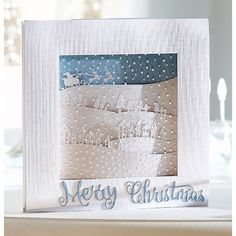 Crafters Companion Sara Signature Contemporary Christmas Collection - Luxury Snowfall Acetate - Crafters Companion from Crafter's…