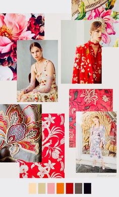 Pattern Curator delivers color, print and pattern trends and inspiration. Pattern Curator, Color Patterns, Print Patterns, Pattern Print, Fashion Portfolio Layout, Winter Mode, Fashion Colours, Fashion Forecasting, Color Trends
