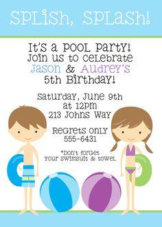 Splish Splash - Pool party