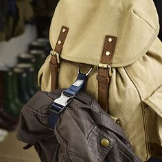 - from Lakeland, discontinued product but could DIY with an old bag strap?