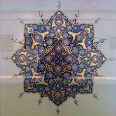 Arabesque, Porch Decorating, Islamic Art, Pattern Art, Surface Design, Geometry, Persian, Bohemian Rug, Arts And Crafts