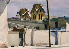 Hopper  St. Francis'Towers, Santa Fé (1925)