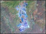 Morenci Mine, Arizona : Image of the Day : NASA Earth Observatory