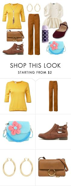 """""""Mother daughter day at work"""" by sassyladies ❤ liked on Polyvore featuring Nina Ricci, Calvin Klein, Isabel Marant and Chloé"""